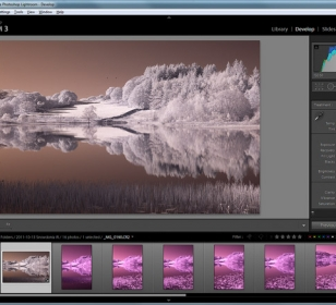 Photographing and Processing Infrared Images