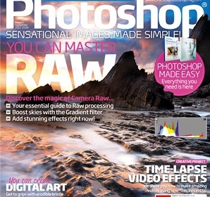 Practical Photoshop Cover and Artists Insight