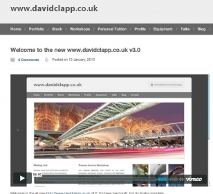 Welcome to the new www.davidclapp.co.uk v3.0