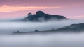 Foggy Dawn at Haytor