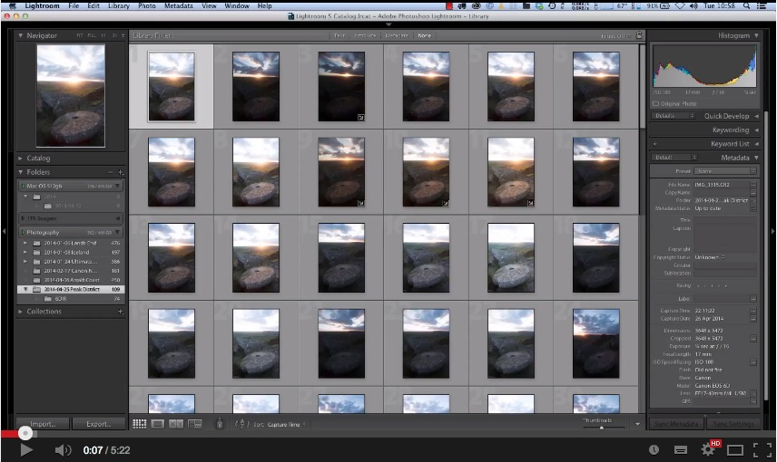 Merging Lightroom Catalogues from Laptop to Desktop