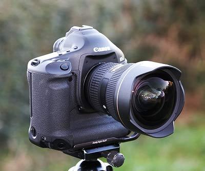 Canon EOS 1dsmk3 with Nikon 14-24