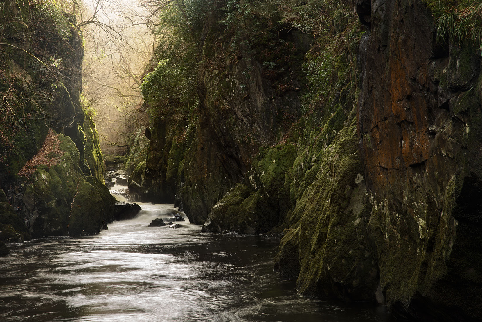Photographing Fairy Glen in Snowdonia