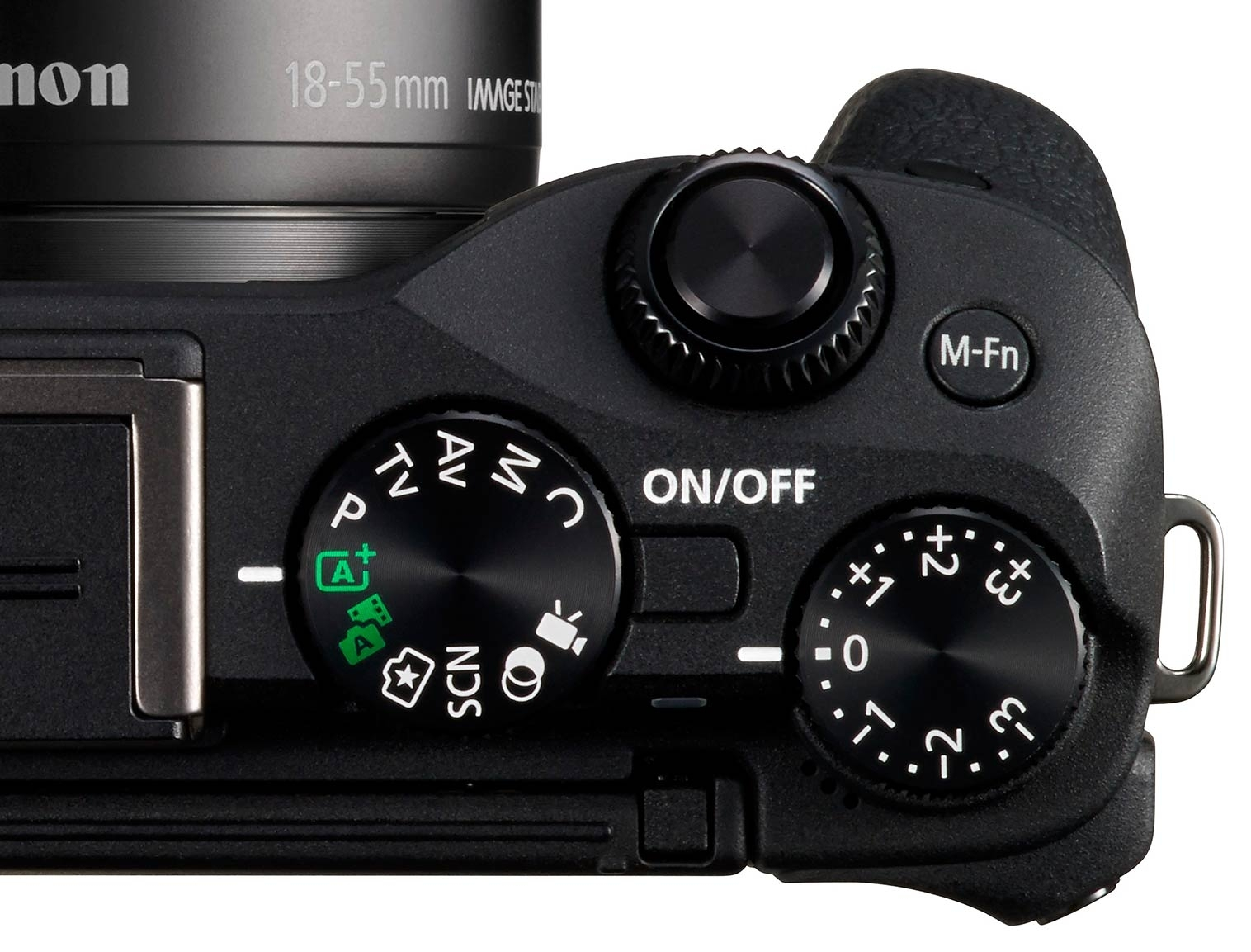 The handling is helped immensely by the thumb grip, the dials and buttons are classic Canon