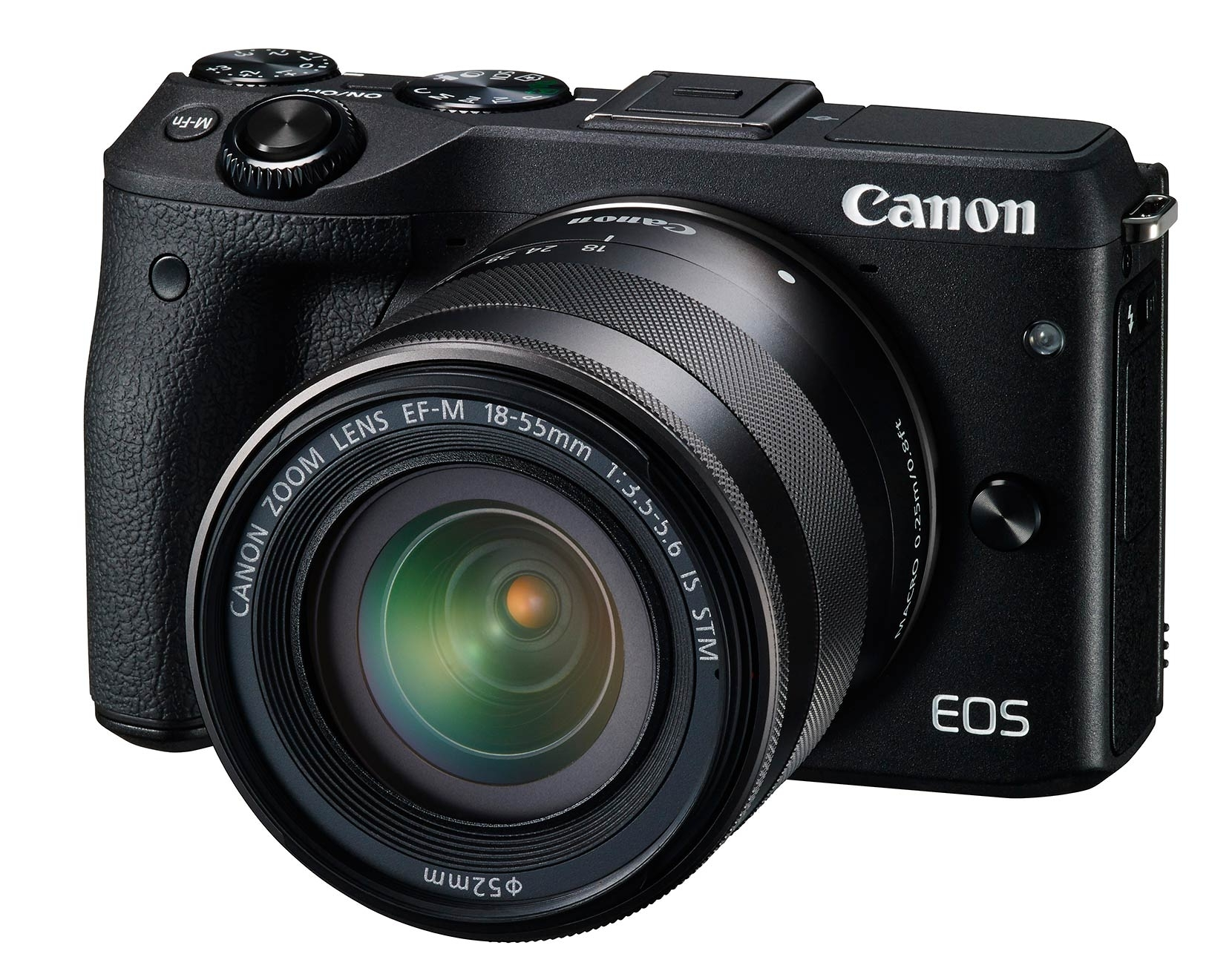 The Canon EOS M3 - front