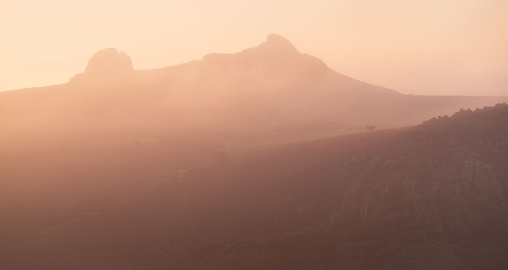 Haytor from afar - a long focal length and engaging 16:9 mode works well in the landscape