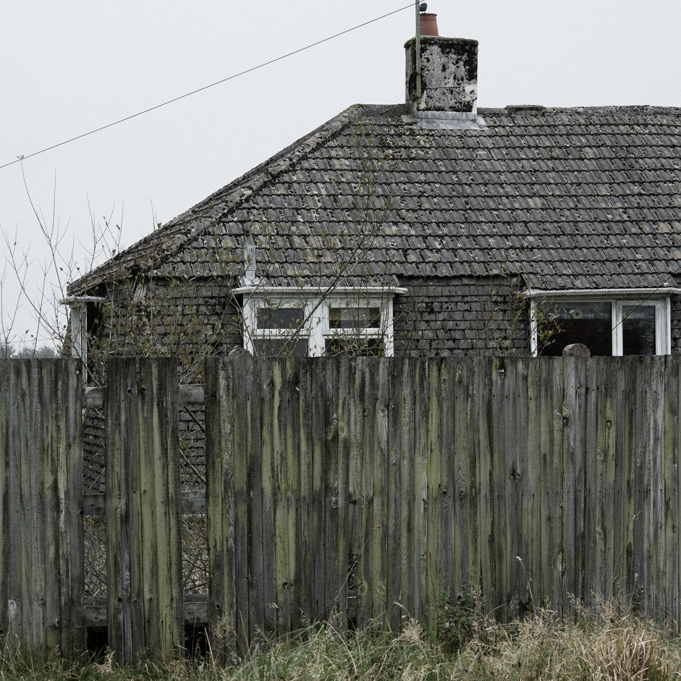 The Cornish Unit - missing fence posts just add to the feel... a riot of texture