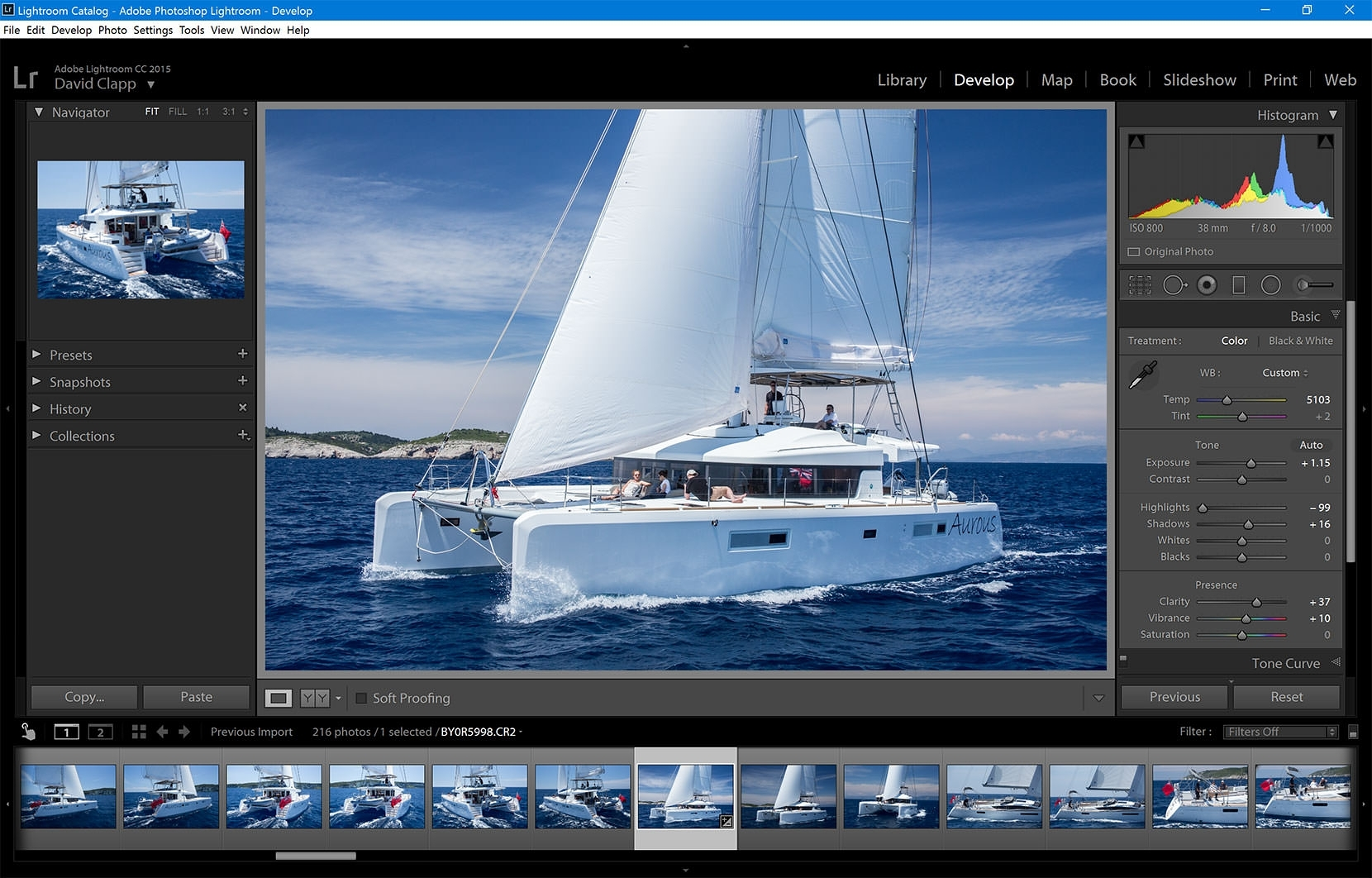 I used this machine to process a recent commission for FleeWInter to shoot super yachts in Corfu and it coped admirably