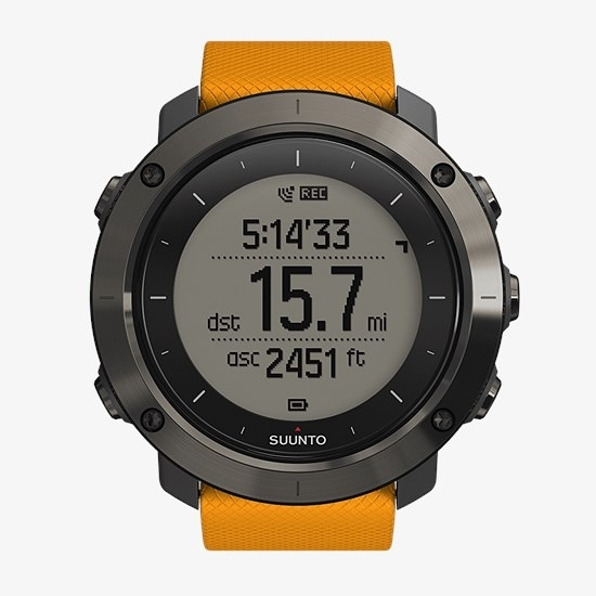 The Traverse in GPS tracking mode - its a wonderful watch for keeping you motivated