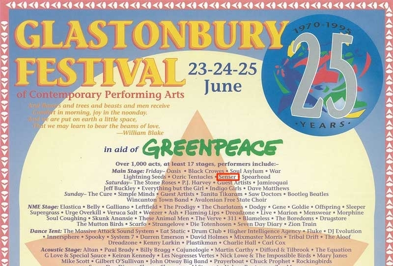 1994 Line up - I worked there backstage for three years in a row.