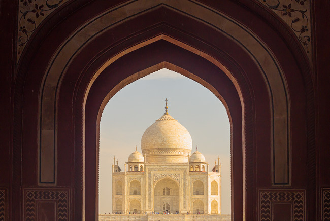 6D Review - the Taj Mahal, showing just how good the colours are