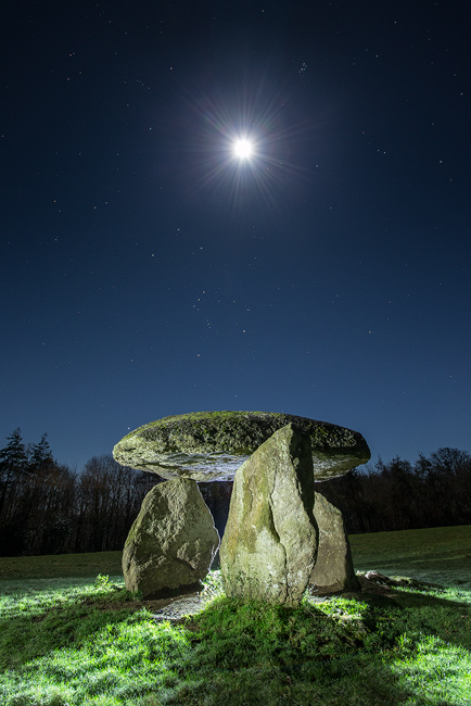 David Clapp Canon 1Dx Field Test - shooting moonlight on Dartmoor