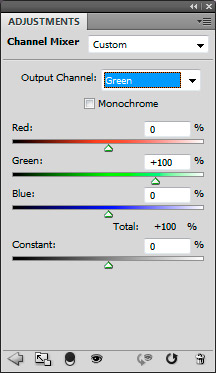 Colour swapping the red and blue channels