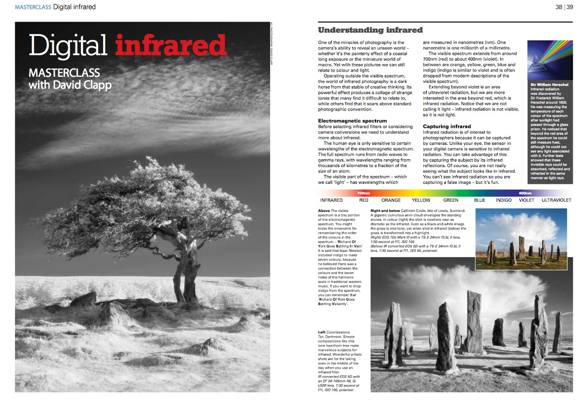 Eos Magazine Infrared Article