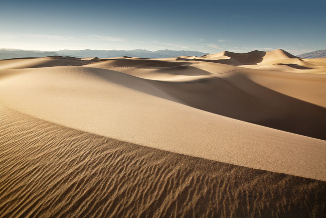 Death Valley, Mesquite Dunes, Stovepipe Wells