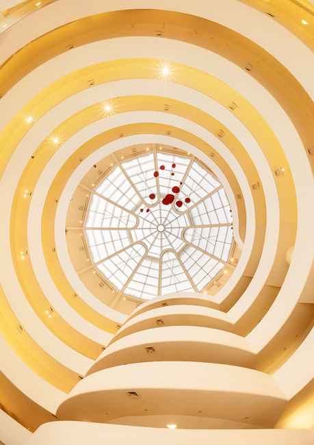 Inside the Guggenheim Museum