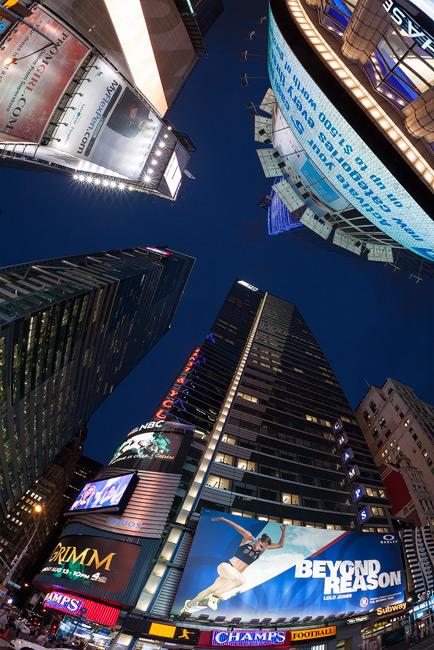 Sigma 15mm in Times Square, Manhattan