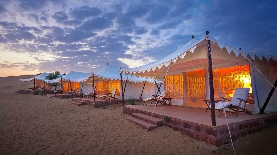 Fabulous Swiss Chalet accommodation at Pushkar