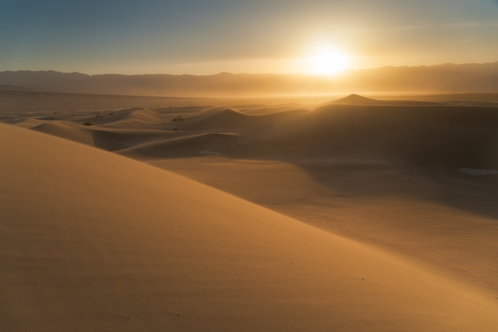 Mesquite Dunes is so photogenic, with amazing opportunities in the best of light.